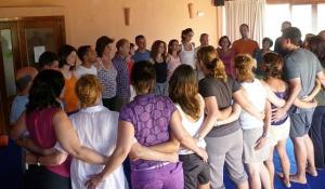 Sesión de Biodanza en Vacaciones en Gredos